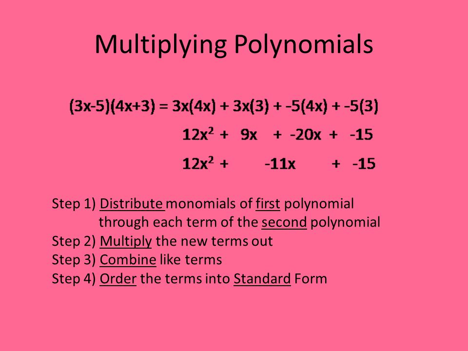 Divide using long division No calculator ppt video online download – Multiplying Polynomials by Monomials Worksheet