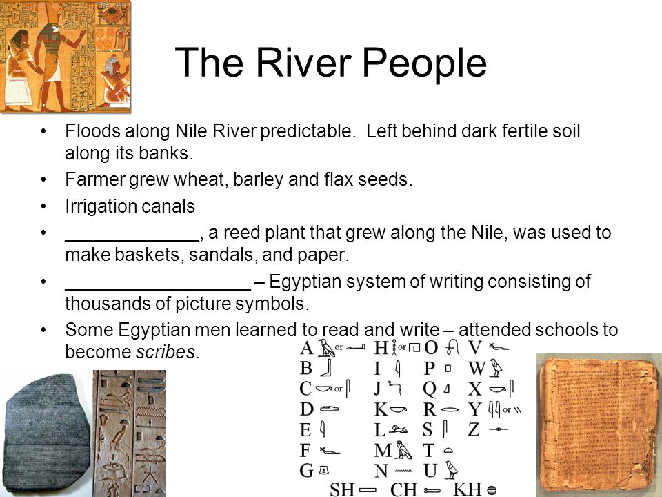 hands along the nile essay Here middle kingdom kings reclaimed land by controlling the water flow along a side river the nile god hapy hands on history: ancient.