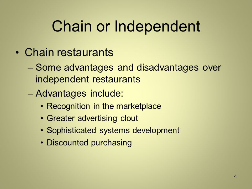 Kinds And Characteristics Of Restaurants And Their Owners