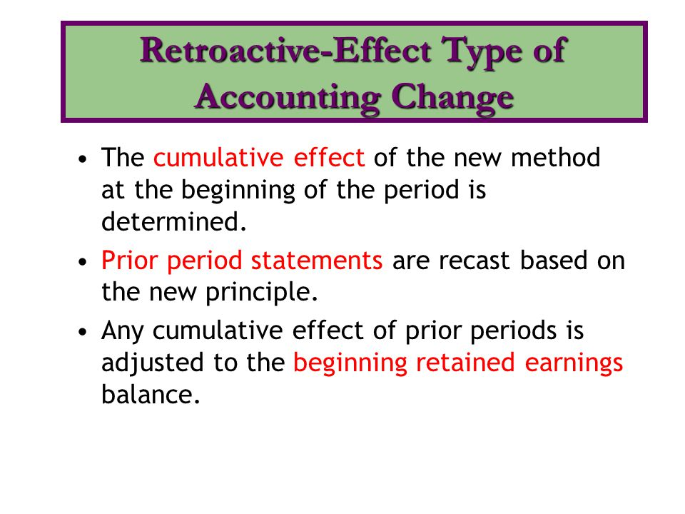 effects of changing accounting standards Bank accounting standards in mexico a layman's guide to changes 10 years after  accounting standards and the structure of regulation  effects the changes.