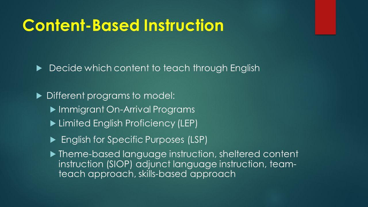 Sheltered English Instruction. ERIC Digest.