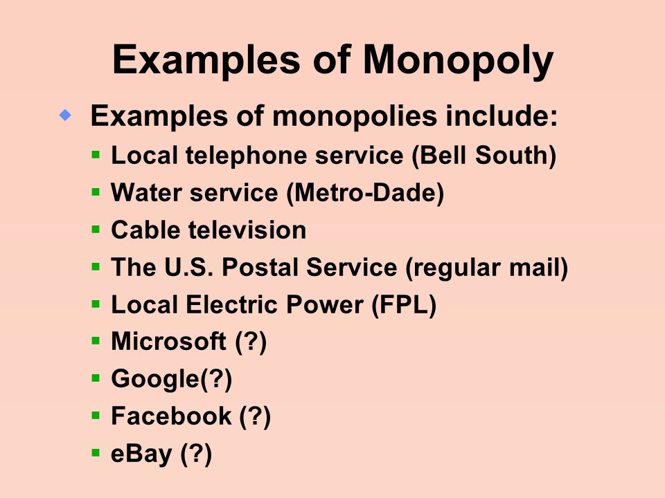 an introduction to the postal service as monopoly There are two types of monopoly, based on the types of barriers to entry they  exploit  under us law, no organization but the us postal service is legally.