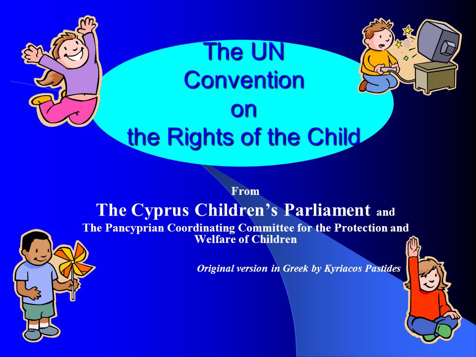 the importance of protecting the rights of children Children's rights are the human rights of children with particular attention to the rights of special protection and care afforded to minors the 1989 convention on the rights of the child (crc) defines a child as any human being below the age of eighteen years, unless under the law applicable to the child, majority is attained earlier.