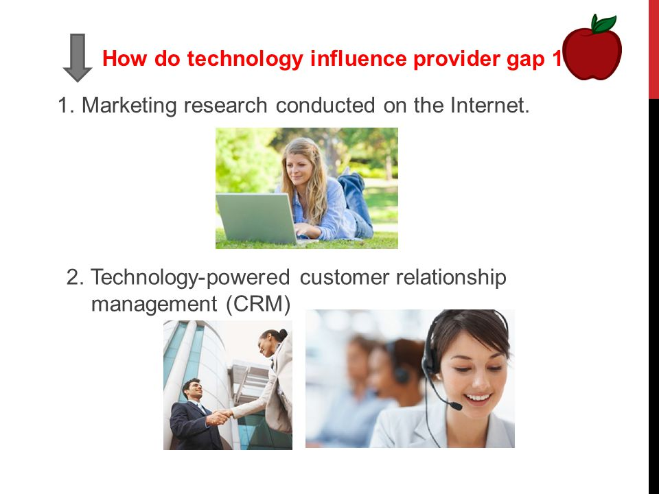 services marketing consumer gap 2 Is there a difference between the servqual and gap consumer behavior in the service sector introduction to services marketing this presentation is about marketing in the servic usage (application): services marketing.