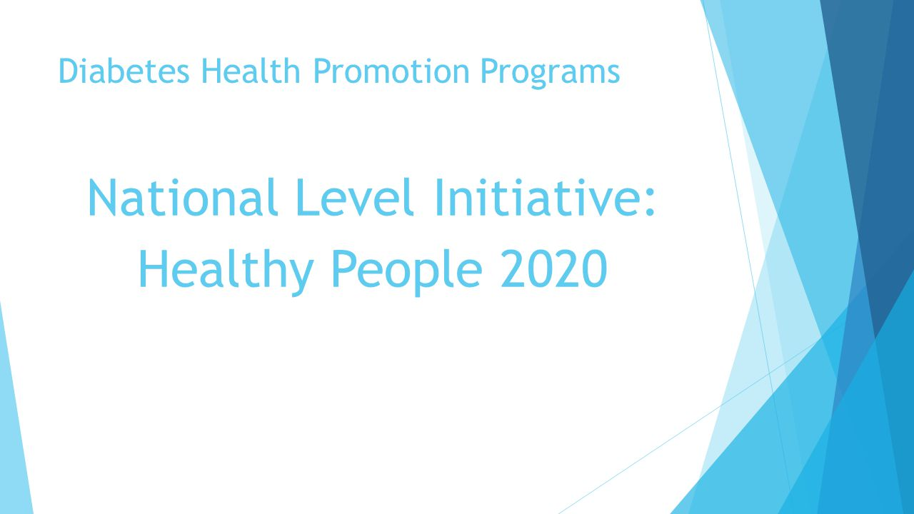 The goal is in sight eye care concerns for patients with - Healthy people 2020 is a plan designed to ...