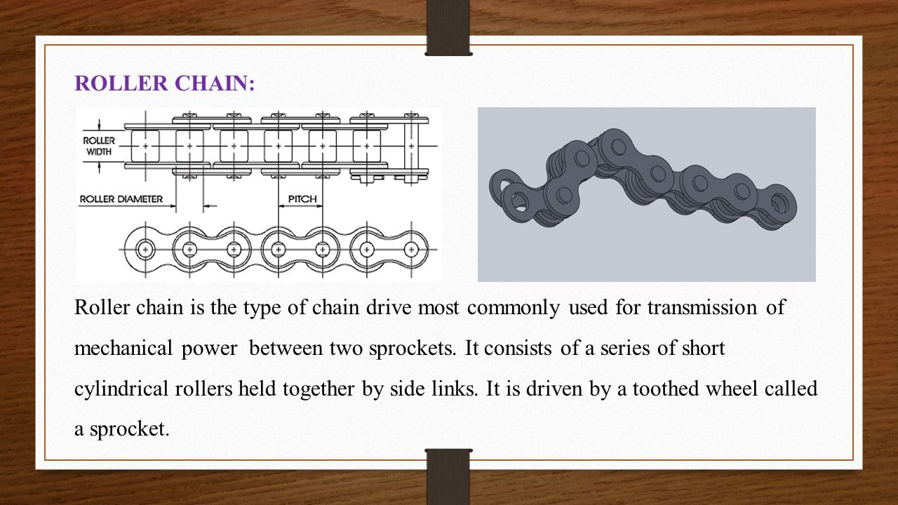 ROLLER CHAIN: