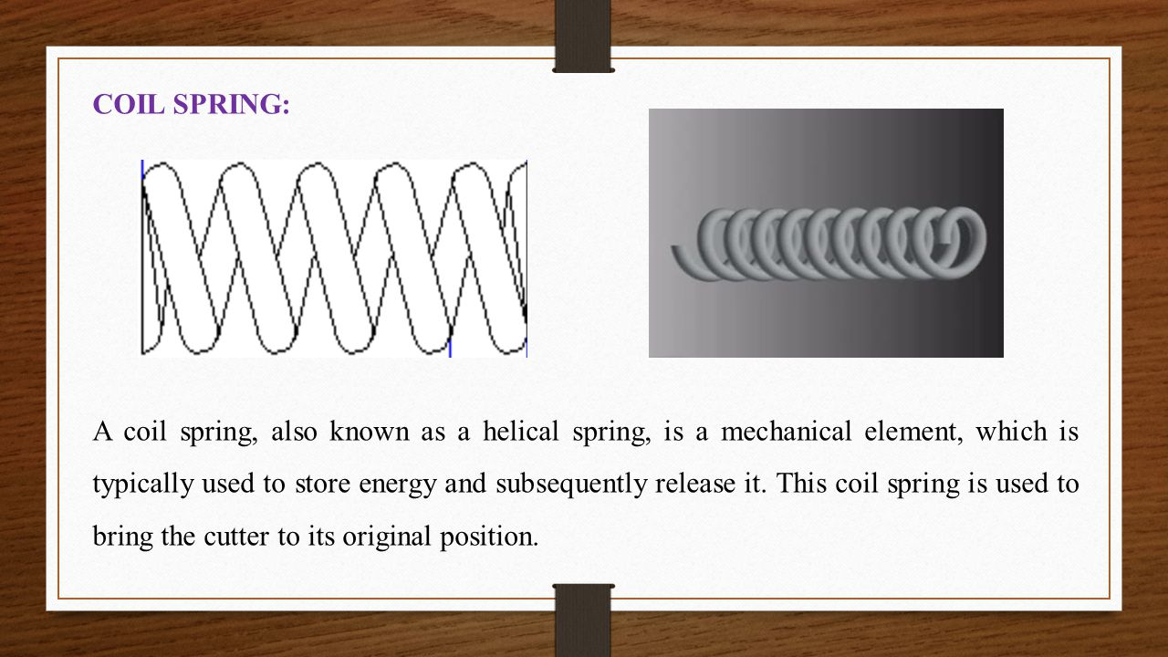 COIL SPRING: