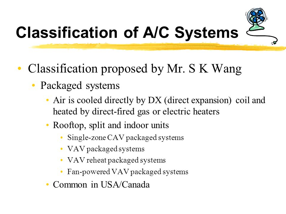 Dx A C Systems : Air conditioning systems ppt video online download