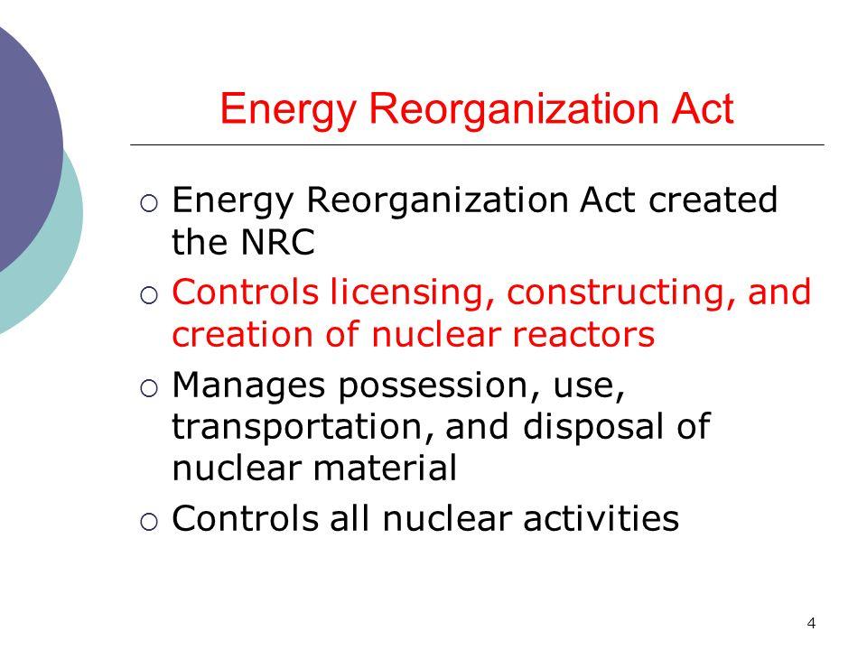 Energy Reorganization Act