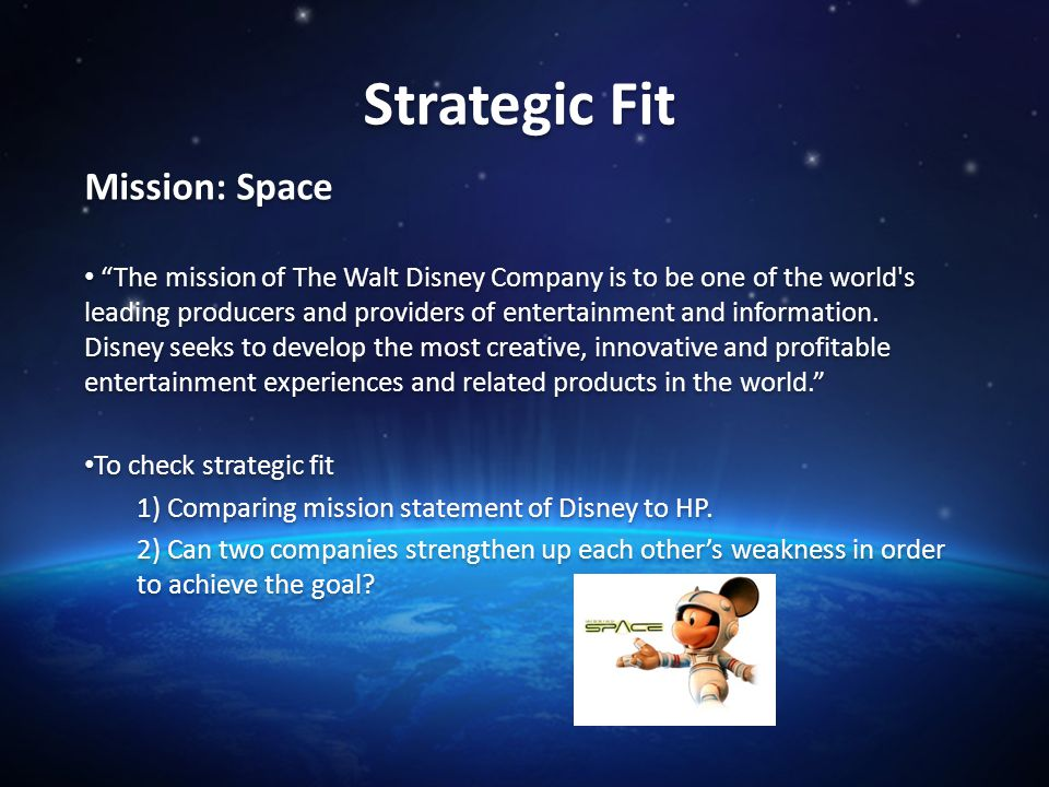 walt disney company and stakeholders Full answer walt disney is one of the best-known brands in entertainment although many people associate disney with theme parks, family films and toys, the company owns a number of well-differentiated brands that cater to diverse markets.