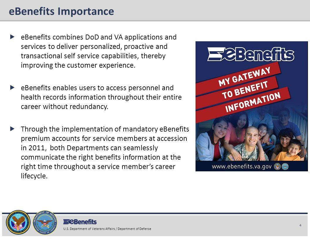 eBenefits Importance