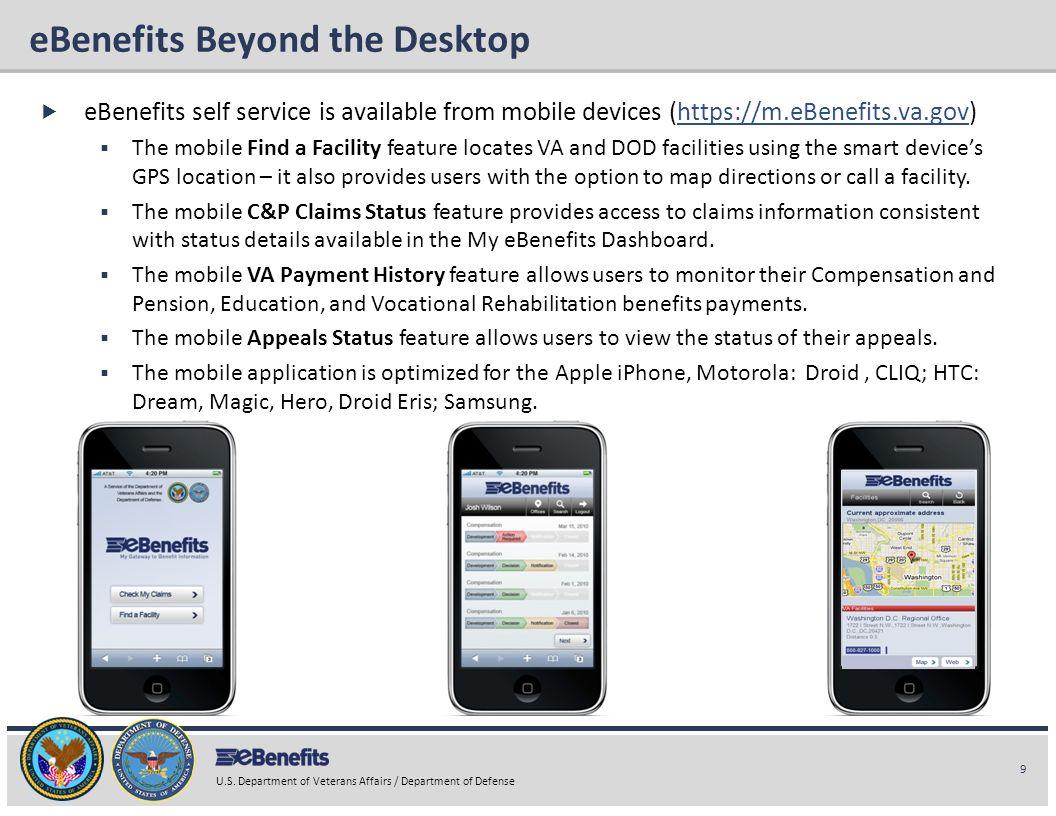 eBenefits Beyond the Desktop