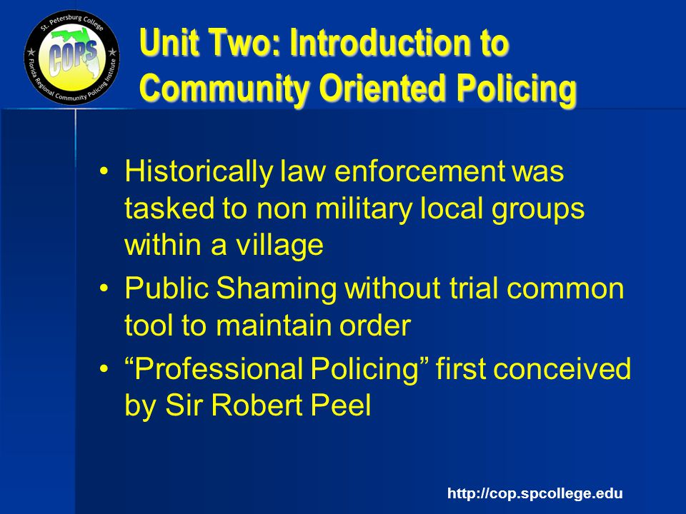 unit 1 introduction to law enforcement Unit 1  6 pages assignment2 american intercontinental university introduction to criminal law  crjs 210 - introduction to law enforcement (102 documents) crjs .