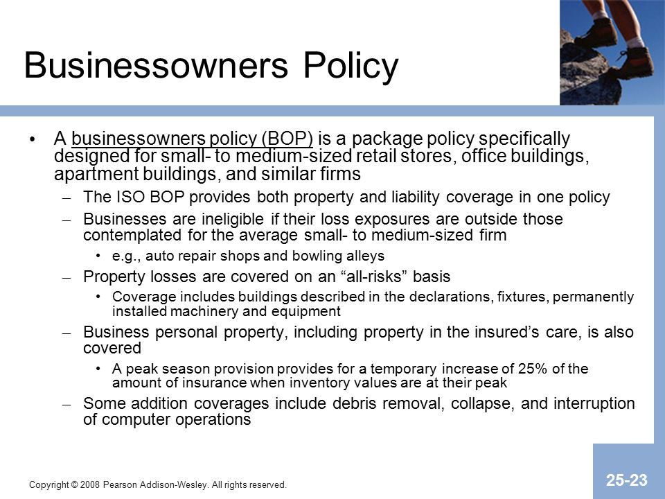 Chapter 25 Commercial Property Insurance. - ppt video ...