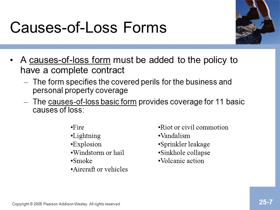 Chapter 25 Commercial Property Insurance. - ppt video online download