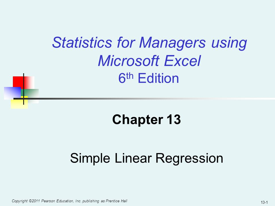 simple linear regression Simple linear regression is a statistical method that allows us to summarize and study relationships between two continuous (quantitative) variables this lesson introduces the concept and basic procedures of simple linear regression we will also learn two measures that describe the strength of the.
