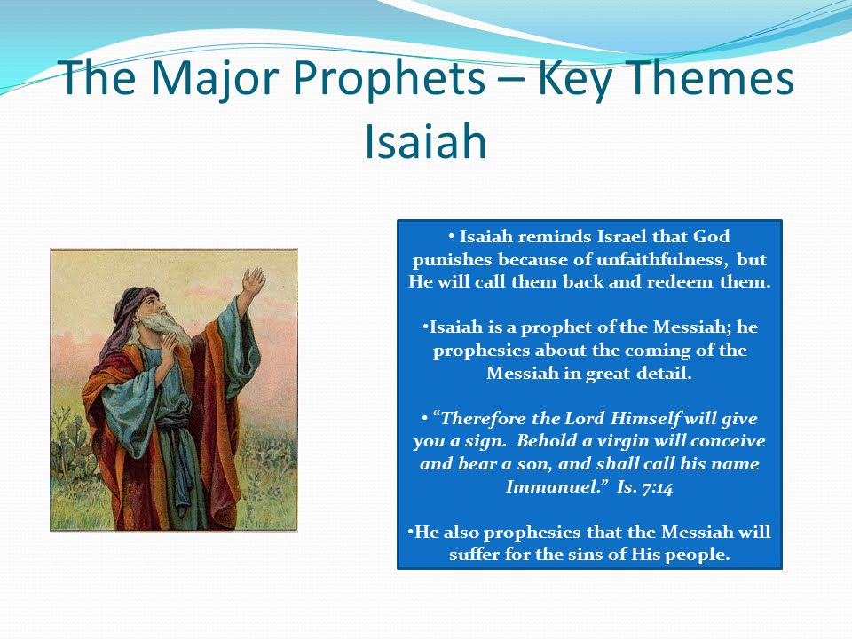 "an analysis of the calling of the prophet isaiah While many find his prophecies hard to understand, isaiah's ""prophetic  paul is  his chief disciple, calling upon his word some twenty times in his various epistles   in the final analysis there is no way, absolutely none, to understand any."