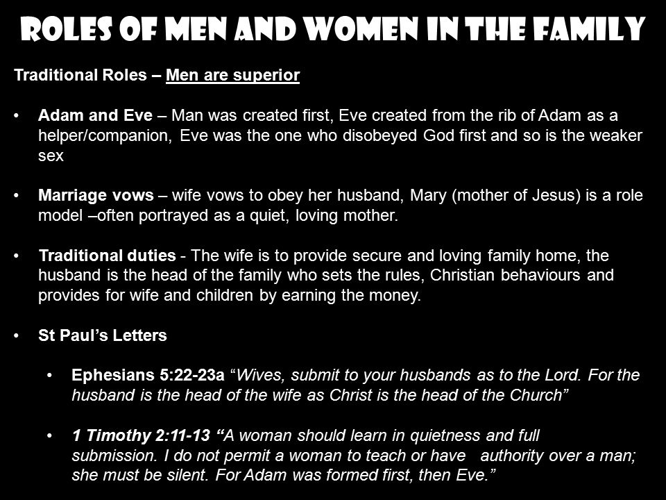 marriage and obedient christian head essay Crucial to any family's success is the wife's role in a christian marriage to be discreet, chaste, keepers at home, good, obedient to their own plays with the church wives, submit yourselves unto your own husbands, as unto the lord for the husband is the head of the wife.