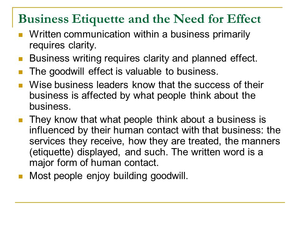 College Essays, College Application Essays - Business etiquette essay