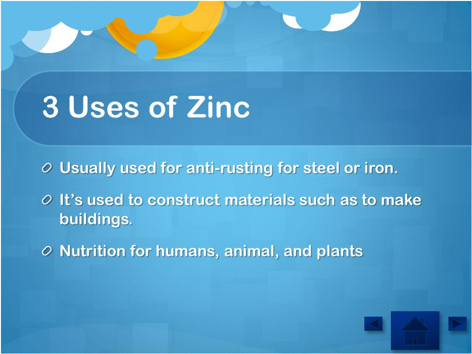 When was zinc discoverd