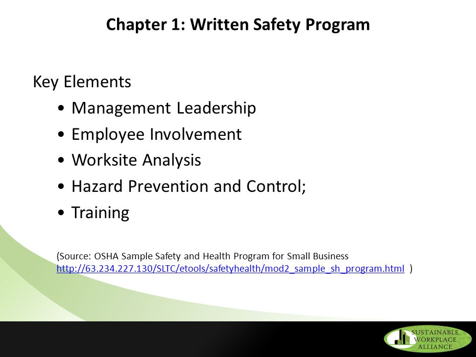 Osha Safety And Health Regulations Related To Spf Applications  Ppt