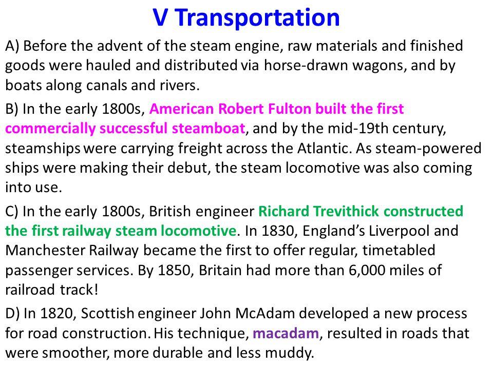V Transportation