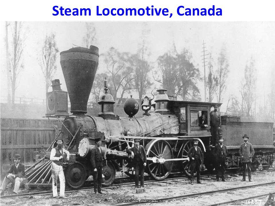Steam Locomotive, Canada