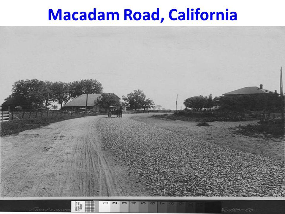 Macadam Road, California