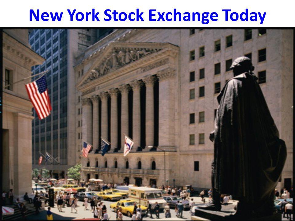 New York Stock Exchange Today