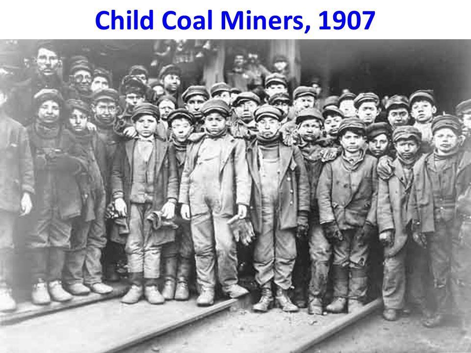 Child Coal Miners, 1907