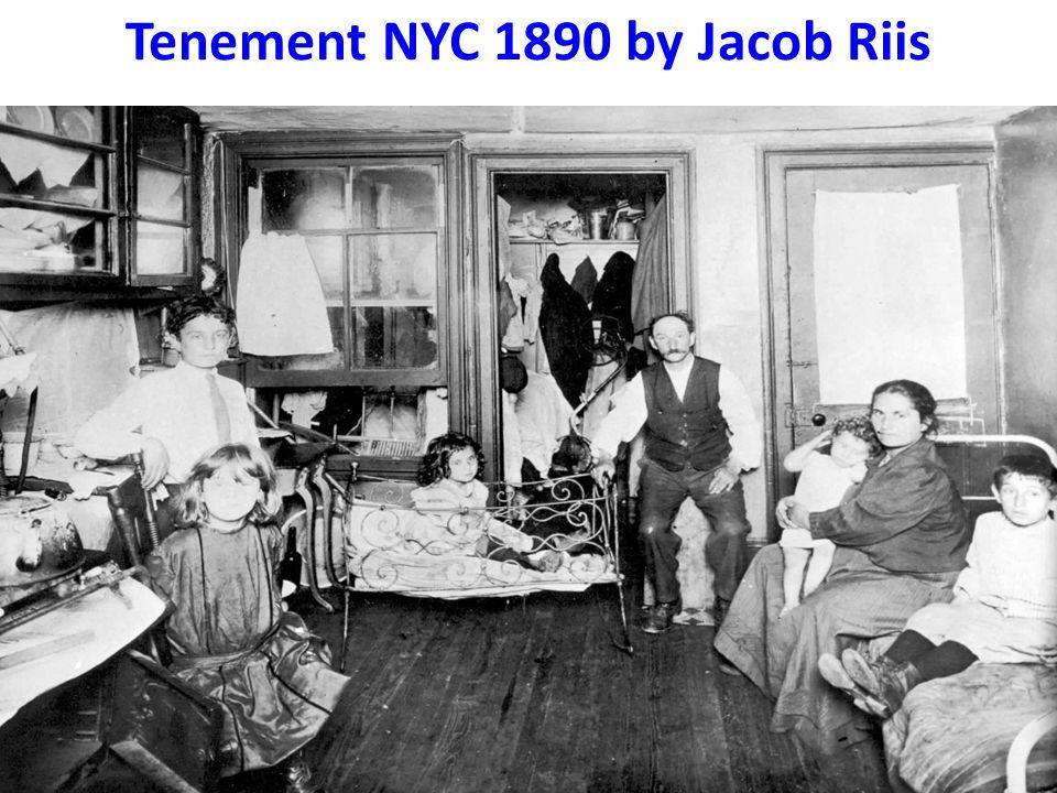 Tenement NYC 1890 by Jacob Riis