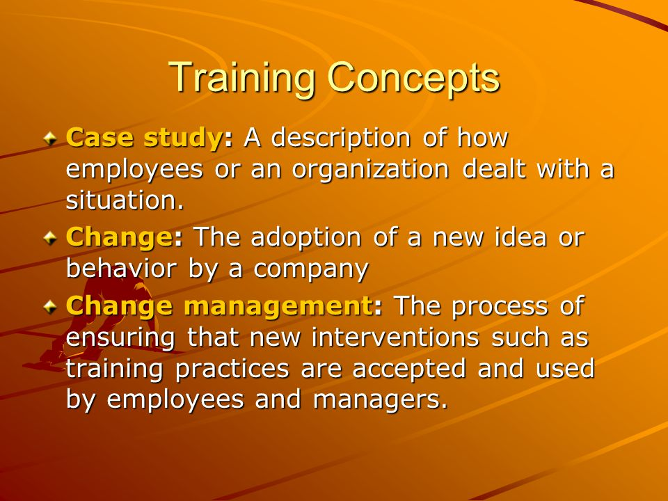 training and development of employees case study The company employs over 200 employees which comprise of medical representatives, sales representatives, area sales managers, brand managers, marketing communications manager, training manager and stores manager.