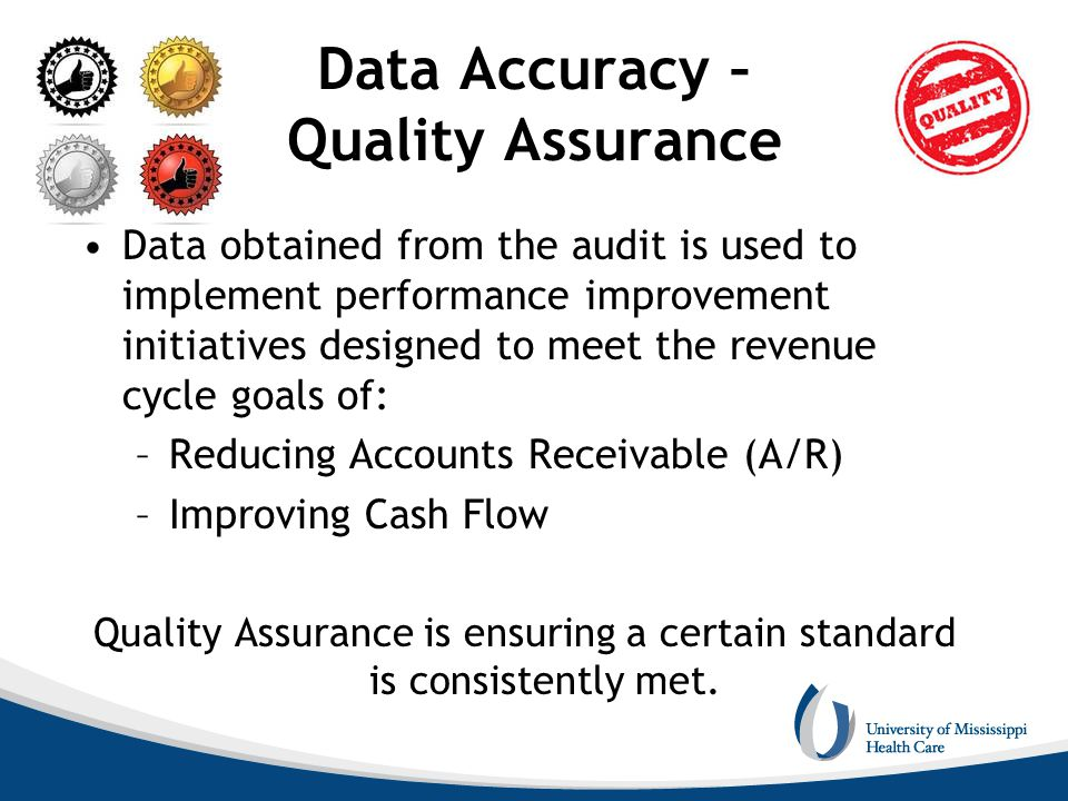 Data Accuracy – Quality Assurance