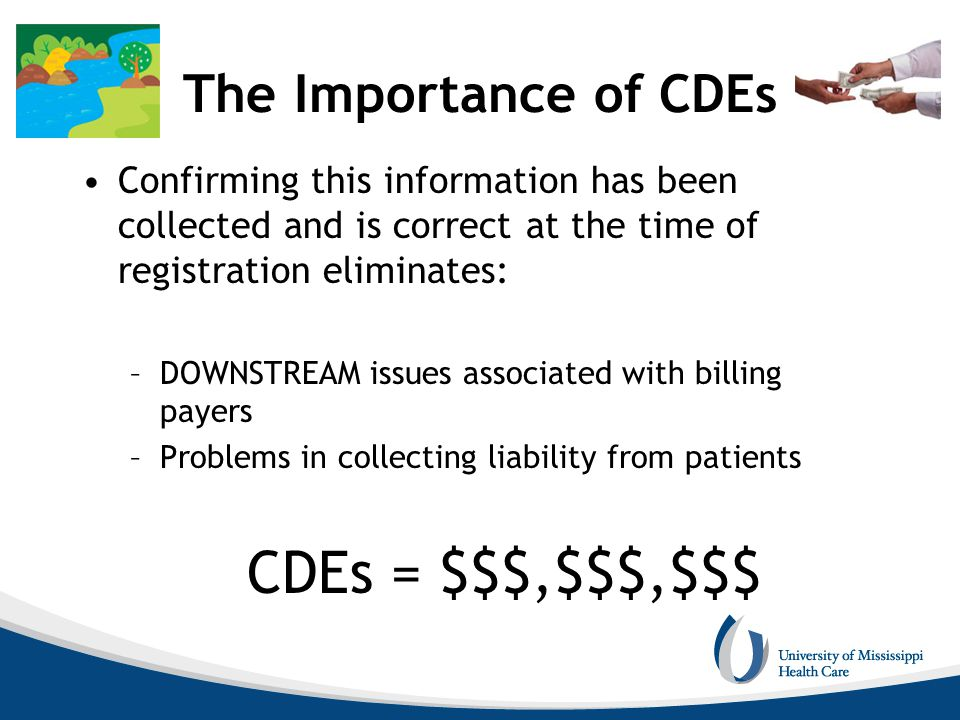 CDEs = $$$,$$$,$$$ The Importance of CDEs