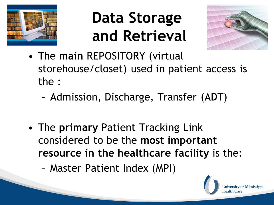 Data Storage and Retrieval