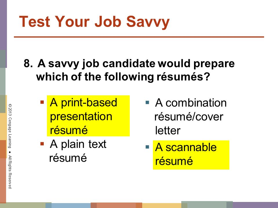 How To Prepare A Resume And Cover Letter For Presentation