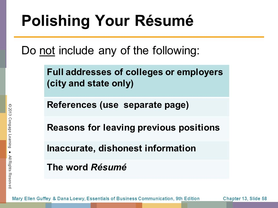 the job search résumés and cover letters ppt download