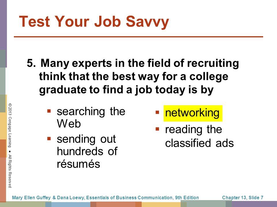 best way to find a job