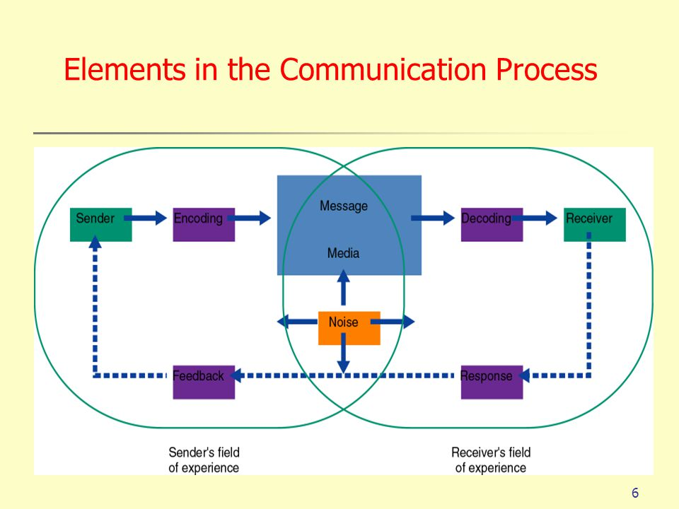 Elements in the Communication Process