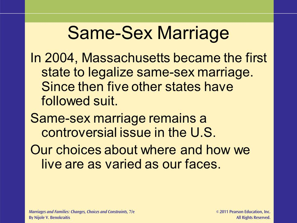 First State To Legalize Same Sex Marriage 18