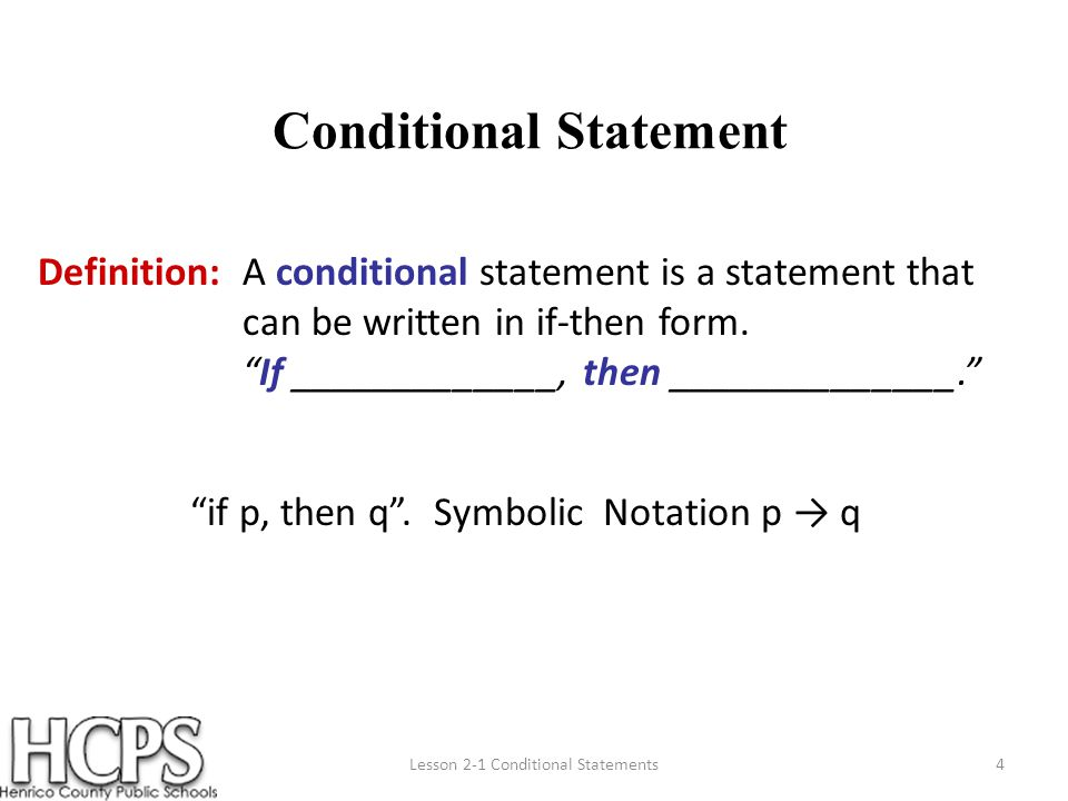 Conditional Statements youtube. com/watch SOL: G.1a SEC: ppt download