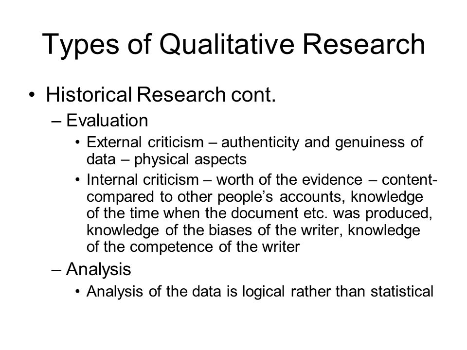 Qualitative analysis; historical and critical essays