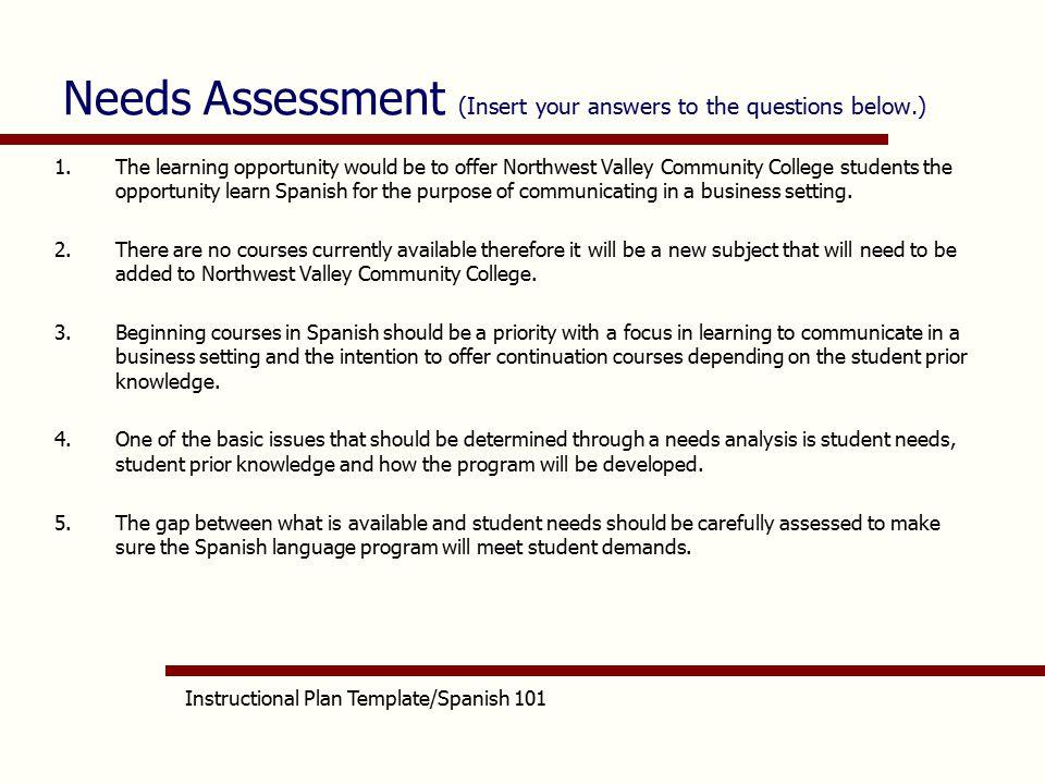 aet/515 spanish 101 instructional plan sofiadiaz - ppt video, Presentation templates