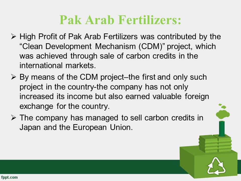 Pak Arab Fertilizers: