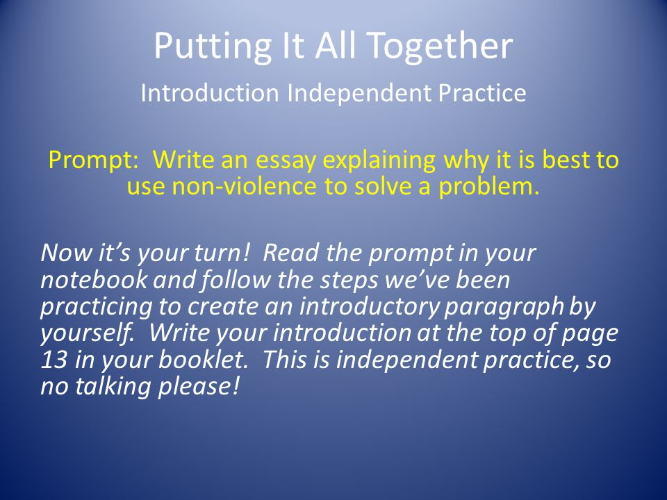 writing an expository essay ppt video online  27 putting it all together