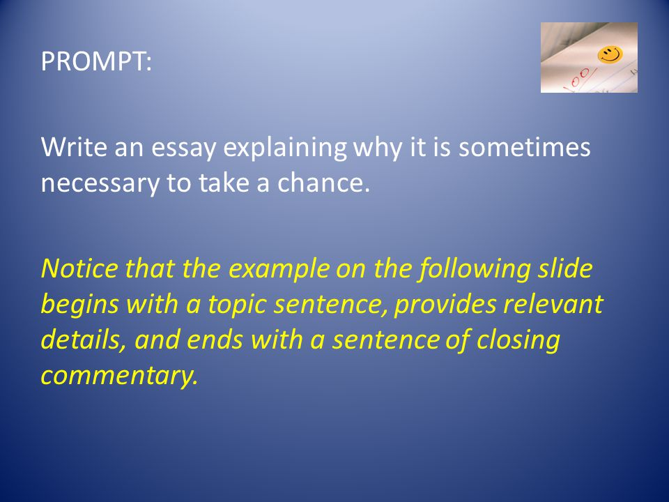 What Is A Commentary Sentence In An Essay