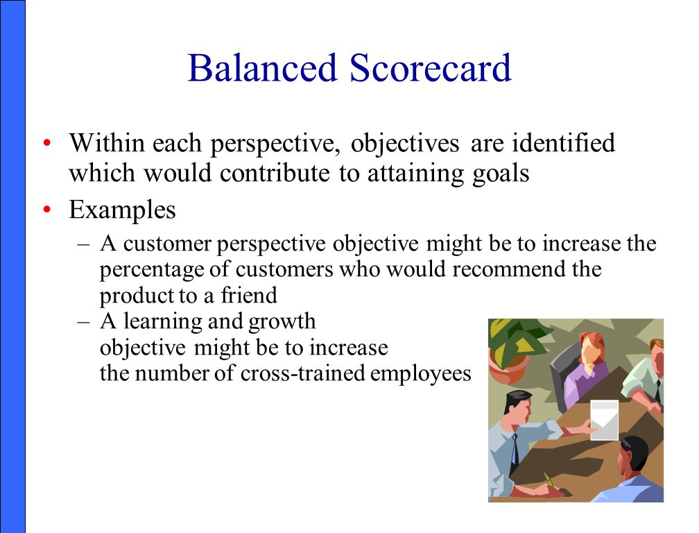 summary of balanced scorecard essay In this getabstract summary, you will learn: what the balanced scorecard is how to use this management tool to evaluate strategy and which five steps to take to link your budget to your resource allocations.
