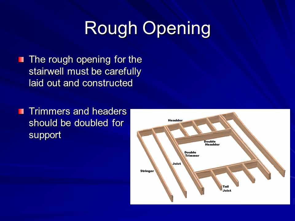 Stairs And Stair Framing Ppt Video Online Download