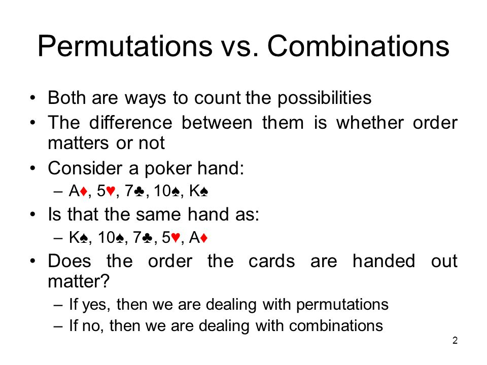 Permutations and combinations, Research paper Example - tete-de