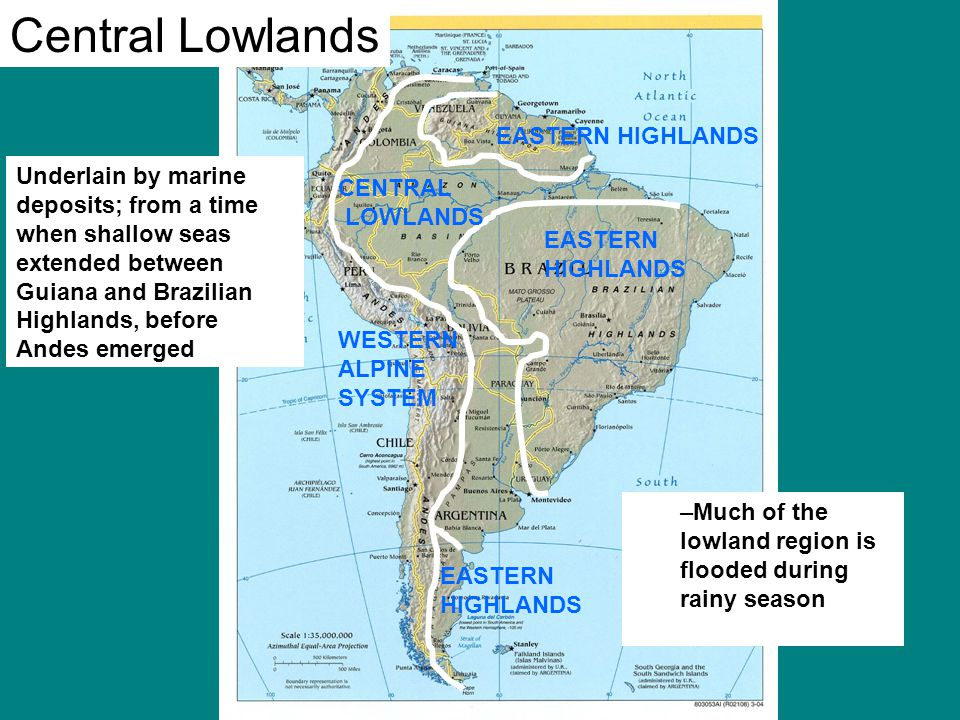 Physiographic Regions Ppt Video Online Download - Central lowlands map